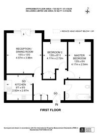 Large floorplan for Ravenscroft Road, Beckenham, BR3