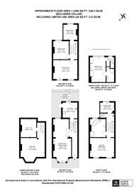 Large floorplan for Reighton Road, Hackney, E5