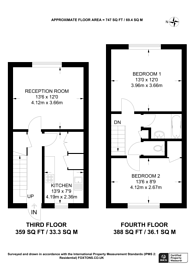 Large floorplan for Queensdale Crescent, Holland Park, W11