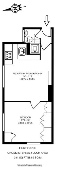 Large floorplan for St Stephens Crescent, Westbourne Park, W2