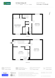 Large floorplan for St Peters Close, Bethnal Green, E2