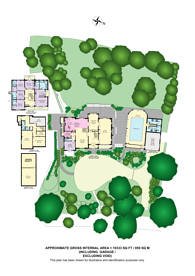 Large floorplan for Shirley Hills Road, Shirley, CR0