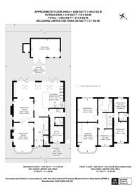 Large floorplan for Malmains Way, Beckenham, BR3