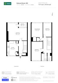 Large floorplan for Dalwood Street, Camberwell, SE5
