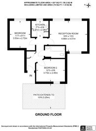 Large floorplan for Elizabeth Mews, Bethnal Green, E2