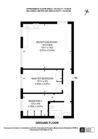 Large floorplan for High Path Road, Guildford, GU1
