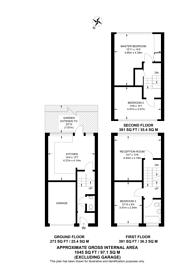 Large floorplan for Angell Park Gardens, Brixton, SW9