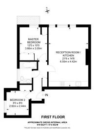 Large floorplan for Belsize Park Gardens, Belsize Park, NW3