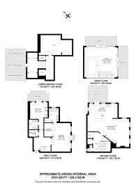 Large floorplan for Mendip Court, Battersea, SW11