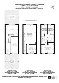 Large floorplan for Westleigh Avenue, Putney, SW15