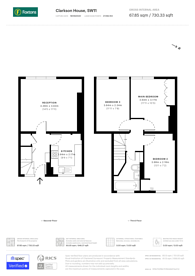 Large floorplan for Maysoule Road, Clapham Junction, SW11