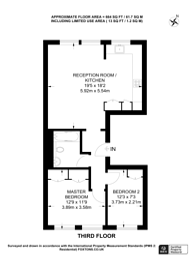 Large floorplan for Ladbroke Gardens, Notting Hill, W11