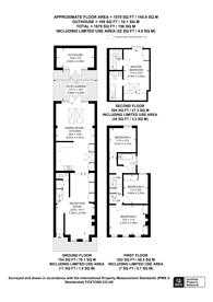 Large floorplan for De Morgan Road, Fulham, SW6