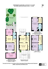 Large floorplan for Walham Grove, Fulham Broadway, SW6