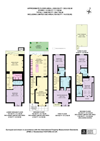 Large floorplan for Harbledown Road, Parsons Green, SW6