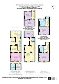 Large floorplan for Denbigh Street, Victoria, SW1V