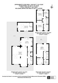 Large floorplan for Overton Close, Isleworth, TW7