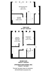 Large floorplan for Britten Close, Golders Green, NW11