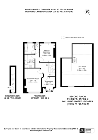 Large floorplan for Granville Road, North Finchley, N12