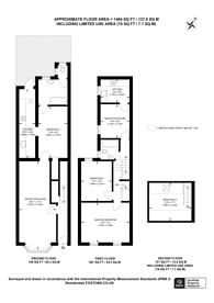 Large floorplan for Neville Road, Upton Park, E7