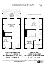 Large floorplan for Elderwood Place, West Norwood, SE27