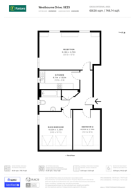 Large floorplan for Westbourne Drive, Forest Hill, SE23