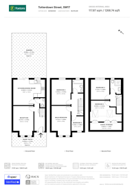 Large floorplan for Totterdown Street, Tooting, SW17
