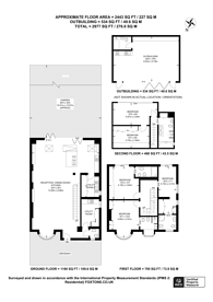 Large floorplan for Cairnfield Avenue, Neasden, NW2