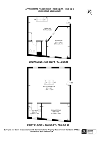 Large floorplan for Cable Street, Wapping, E1W