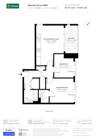 Large floorplan for Moorhen Drive, Hendon, NW9