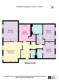 Large floorplan for Ebury Square, Belgravia, SW1W