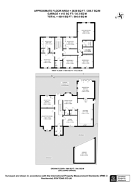 Large floorplan for Mays Hill Road, Shortlands, BR2