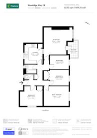 Large floorplan for Hackney, Hackney, E9