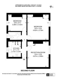 Large floorplan for Jamestown Road, Camden Town, NW1