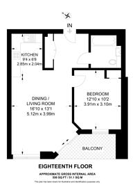 Large floorplan for Anthology Hale Works, Tottenham, N17
