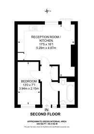 Large floorplan for Falstaff House, Shoreditch, N1