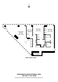 Large floorplan for Stratford Lofts, Stratford, E20