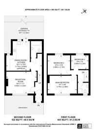 Large floorplan for Brockill Crescent, Brockley, SE4