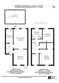 Large floorplan for Cromwell Place, South Kensington, SW7