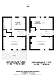 Large floorplan for Hackney Road, Hackney, E2