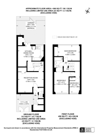 Large floorplan for Linstead Way, Southfields, SW18