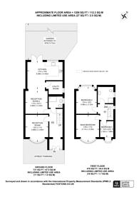 Large floorplan for Hall road, Isleworth, TW7