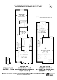 Large floorplan for Tynemouth Street, Sands End, SW6