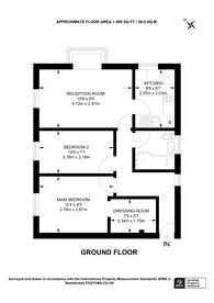 Large floorplan for Sevenoaks Close, Sutton, SM2
