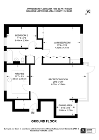 Large floorplan for Boxgrove Road, Guildford, Guildford, GU1