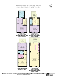 Large floorplan for Cheval Place, Knightsbridge, SW7