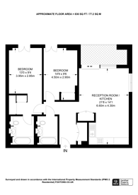 Large floorplan for West End Gate, Little Venice, W2