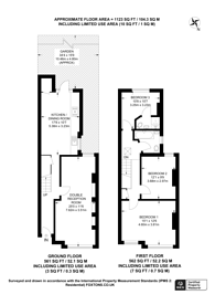 Large floorplan for Brenthurst Road, Willesden, NW10