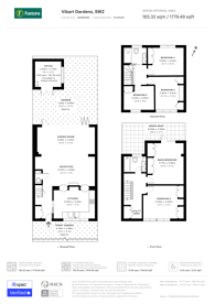 Large floorplan for Vibart Gardens, Brixton Hill, SW2