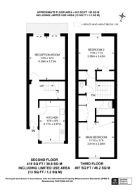 Large floorplan for Scholefield Road, N19, Archway, N19